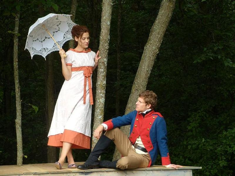 A 2012 performance of 'The Tempest.' The Vermont Shakespeare Company opens it's seventh season this weekend with 'A Midsummer Night's Dream.'