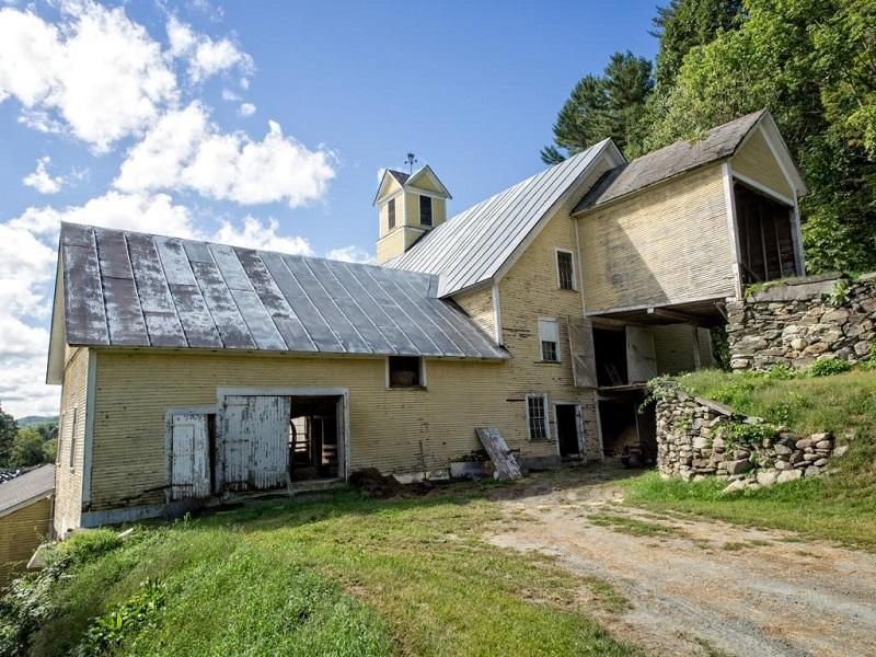 Lemax Barn, in Hartland, needs repair, and a comminity group is trying to save it.
