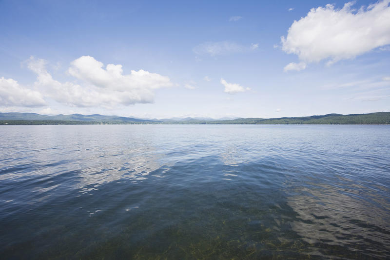 Underneath that calm surface, Lake Champlain is doing a lot of moving and shaking.