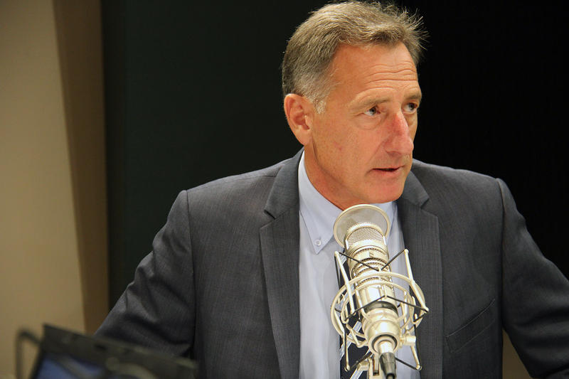 Incumbent Democratic Gov. Peter Shumlin says health care should be a right, not a privilege.