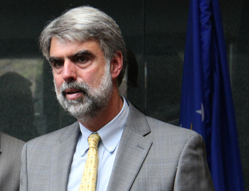 Vermont State Colleges Chancellor Jeb Spaulding, shown here in 2013, says he doesn't think a name change will improve the system's brand, and he thinks the state colleges trustees will agree with him.