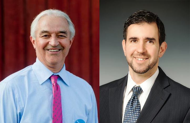 Incumbent Democrat Bill Sorrell and Republican challenger Shane McCormack are running for Attorney General.