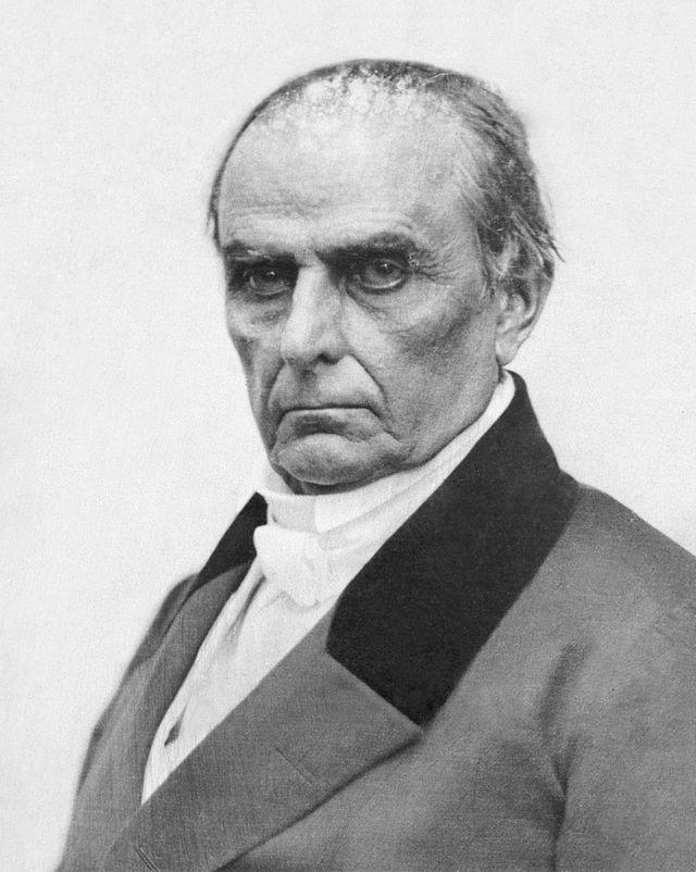 Daniel Webster as Secretary of State for President Millard Fillmore, 1850-1852