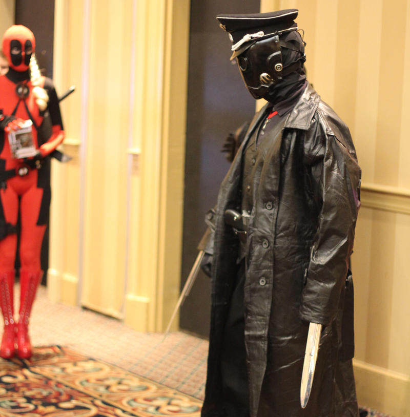 This depiction of Karl Kroenen from the Hellboy franchise won Best In Show at the Vermont Comic Con costume contest.