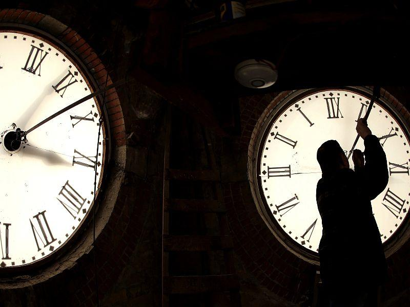 You might notice a change in the clocks during Morning Edition and All Things Considered this week.