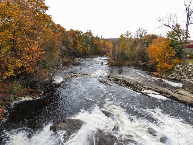 The opening chapter of 'Downstream: Reflections on Brook Trout, Fly Fishing, and the Waters of Appalachia' focuses on Maine's Androscoggin River.