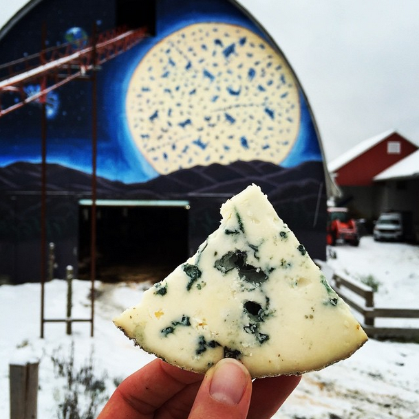The Cellars at Jasper Hill's Bayley Hazen Blue cheese has been named World's Best Unpasteurized Cheese by an international panel of judges at the World Cheese Awards in London, England.
