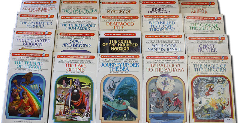"The ""Choose Your Own Adventure"" series allowed for young readers to go on a personalized adventure with each decision made throughout the story."
