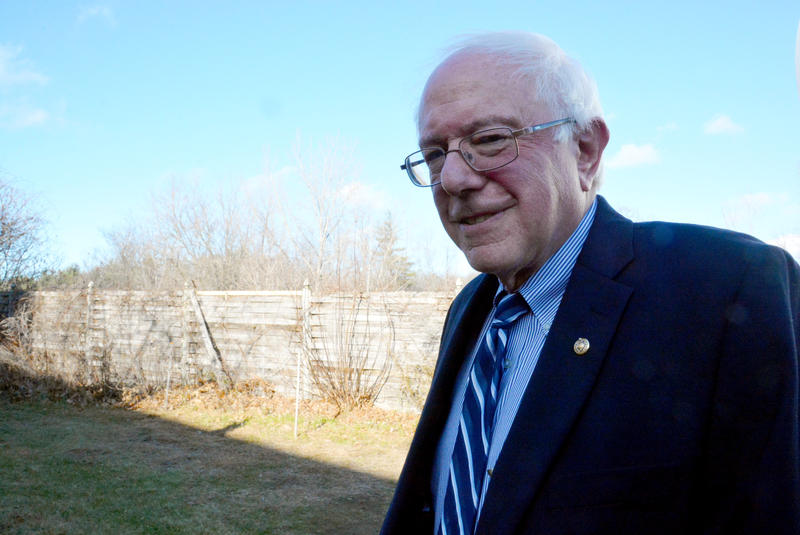 "Sen. Bernie Sanders discussed his opposition to the Keystone XL Pipeline, his support of President Obama's executive action on immigration reform and other issues on ""Vermont Edition."""