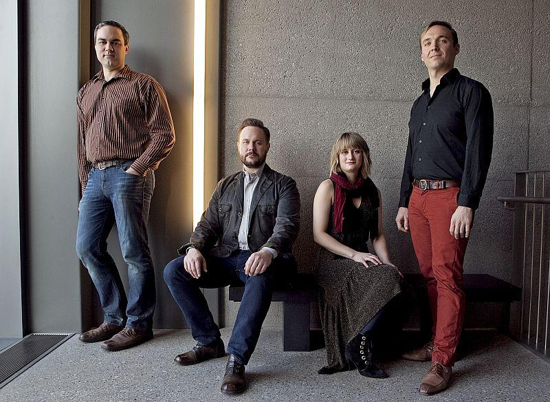 The Spektral Quartet visits VPR Classical with Evan Premo on Friday.