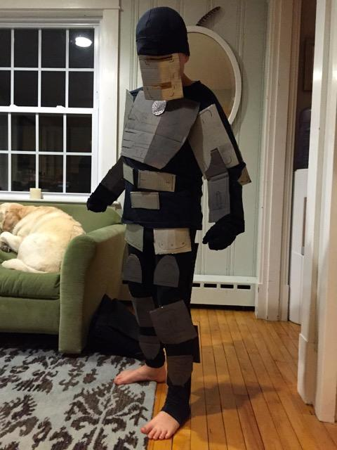 Iron Man costume, front