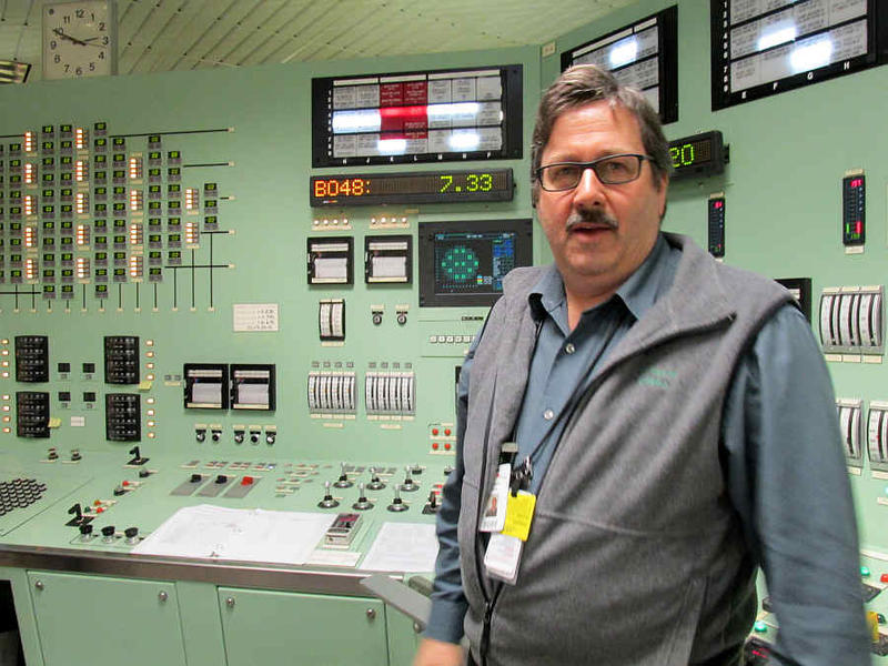 VY trainer Brian Stewart has been leading reactor operators through mock shutdowns in the control room simulator.
