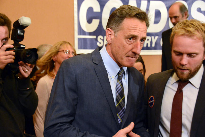 Final results showed that Gov. Peter Shumlin received roughly 2,400 more votes than Republican challenger Scott Milne. Milne will not seek a recount; the Vermont Legislature will decide the state's next governor by secret ballot in January.