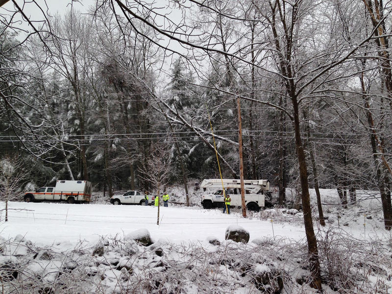 Green Mountain Power paid salaried employees $770,410 in bonuses for their work in this December 2014 storm. State regulators let the company collect the extra cash from customers.