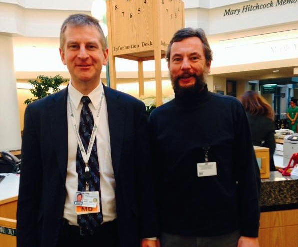 Dr. George Blike, chief quality control and value officer, and Dr. Andreas Taenzer are leading efforts to improve diagnosis and treatment of sepsis at Dartmouth- Hitchcock Medical Center.