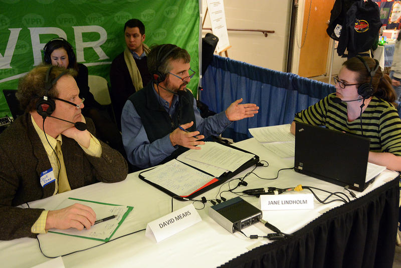 "Secretary of Agriculture Chuck Ross, left, and Commissioner of Environmental Conservation David Mears joined VPR's Jane Lindholm on ""Vermont Edition"" to talk about farm runoff, lake cleanup efforts and more."