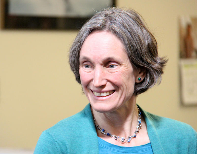 Headshot of Vermont Education Secretary Rebecca Holcome pictured in 2014.