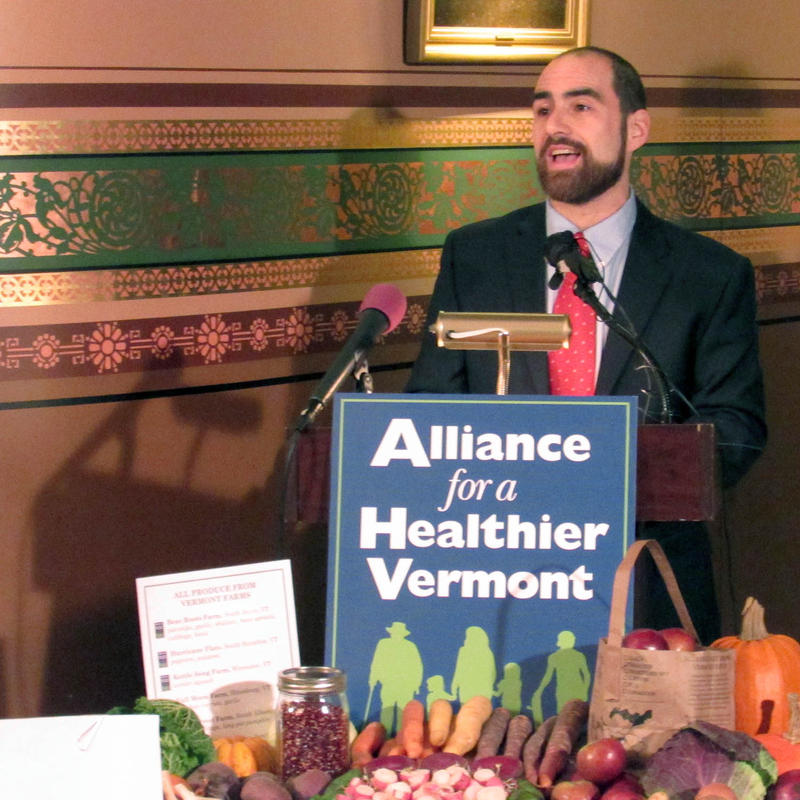 Anthony Iarrapino, the campaign director for Alliance for a Healthier Vermont, says the time is ripe for a tax on sugar-sweetened beverages.