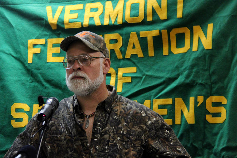 Steve LaFar, the head of the Vermont Turkey and Young Guns Club, said he is opposed to gun control legislation in Vermont.