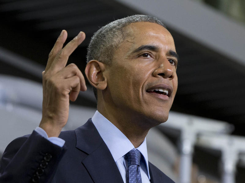 President Barack Obama speaks in Cedar Falls, Iowa, on Jan. 14 about steps to increase access to affordable, high-speed broadband across the country. The president is expected to expand upon his plan during his State of the Union address on Tuesday.