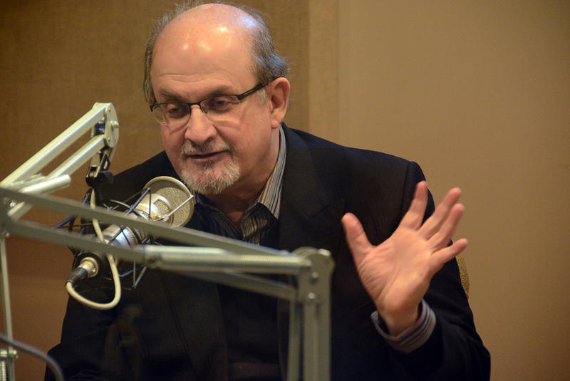 "Salman Rushdie's book ""Haroun and the Sea of Stories"" is this year's pick for Vermont Reads. He sits down with VPR to discuss the story, his connection to Vermont and his thoughts on fiction, religion and the attacks on Charlie Hebdo."