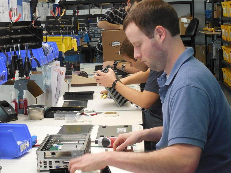 Logic Supply, of South Burlington, has a completely open policy in their business. This includes an open layout in their office, sharing of company financials and each employee's salary being public to other workers.
