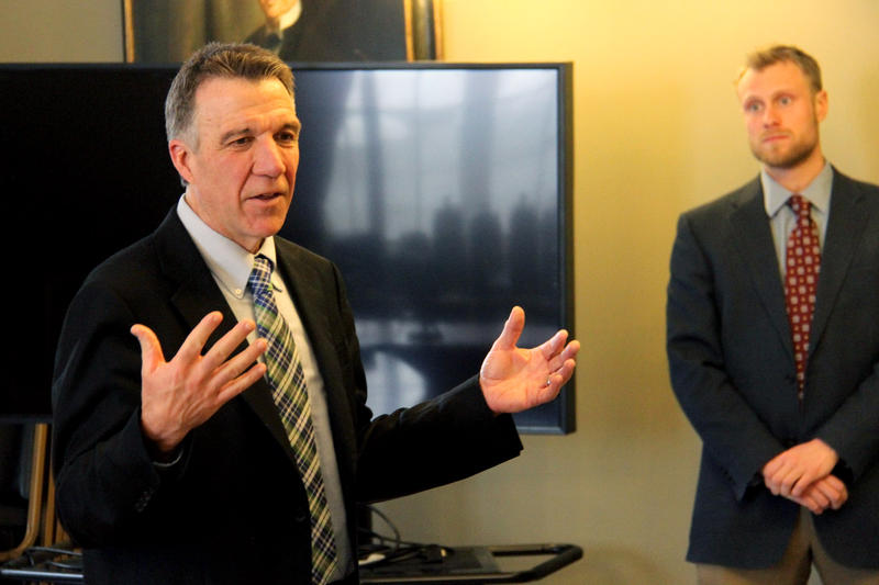 Lt. Gov. Phil Scott says he thinks lawmakers should do away with the philosophical exemption to the state's mandatory immunization law. The exemption has been the center of debate as a national measles outbreak has called attention to immunization rates.