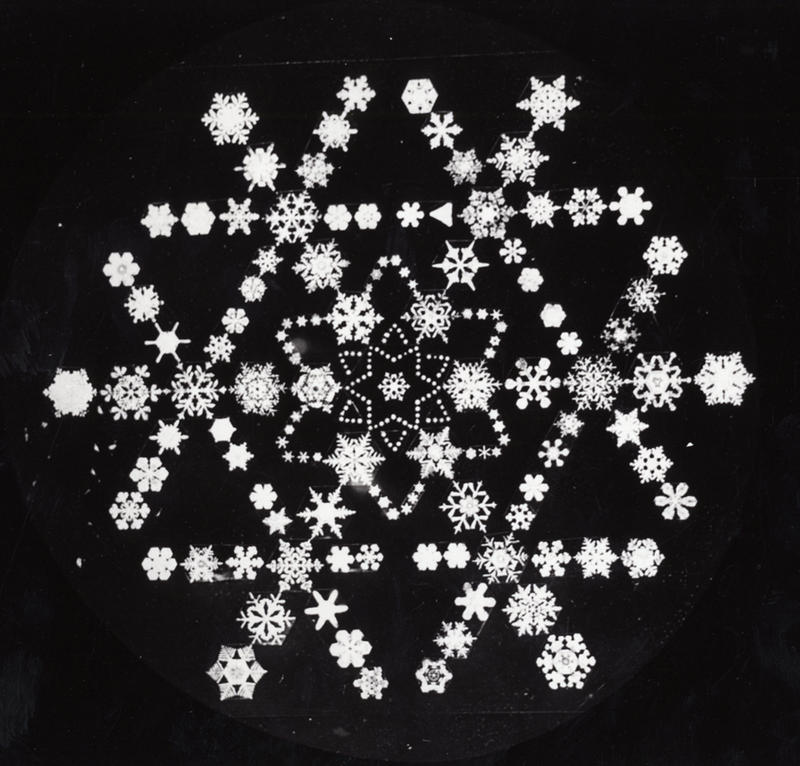 Wilson Snowflake Bentley, a Jericho native, was the first person to ever photograph a single snowflake. This is a montage he created of a variety of his photographs.