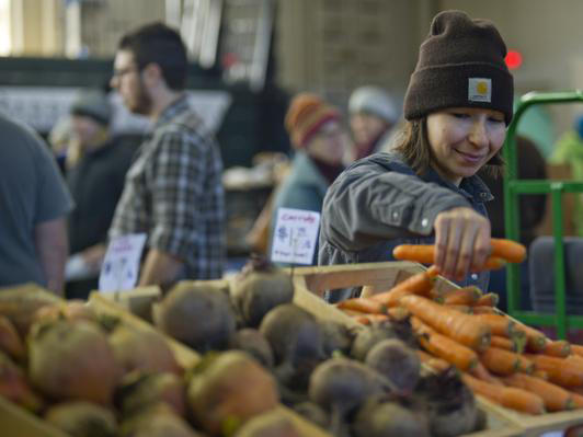 There are 17 winter farmers markets throughout Vermont, many of which operate on a weekly basis. Food writer Melissa Pasanen visited several winter markets and described the variety of products available.
