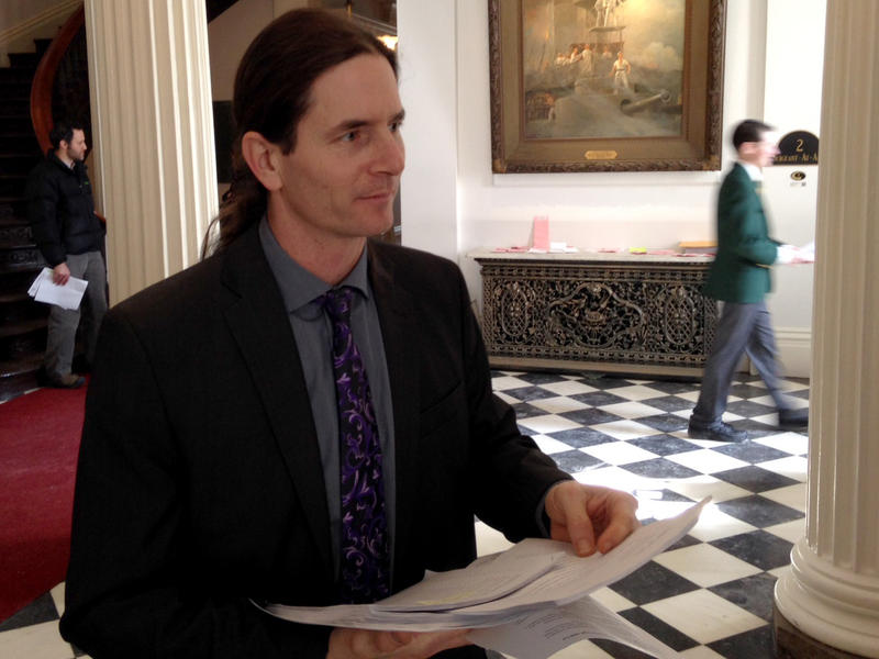 Chittenden Sen. David Zuckerman, a Progressive/Democrat, handed out the first copies Tuesday of a new bill that would legalize marijuana, and have the state regulate the drug in much the same way it does alcohol.