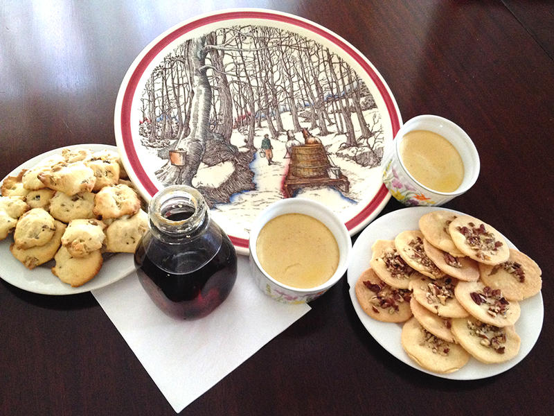 """Candace Page, food writer for the """"Burlington Free Press,"""" recently looked into the history of maple recipes in Vermont and tried cooking several from the late 19th and 20th centuries."""