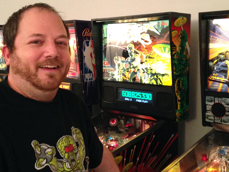 Steve Daniels is Vermont's first State Pinball Champion and is competing in the U.S. National Pinball Championship.