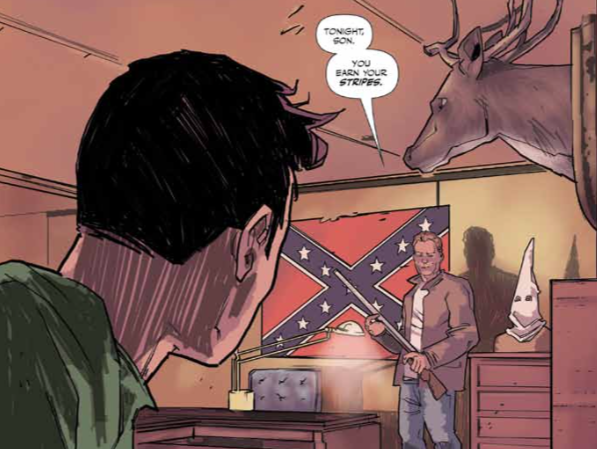 "Middlebury writer Jeremy Holt, an Asian-American, says he's experienced racism in every city he's lived. ""Southern Dog,"" written by Holt and illustrated by Alex Diotto, tackles teen angst and racism in the Deep South."