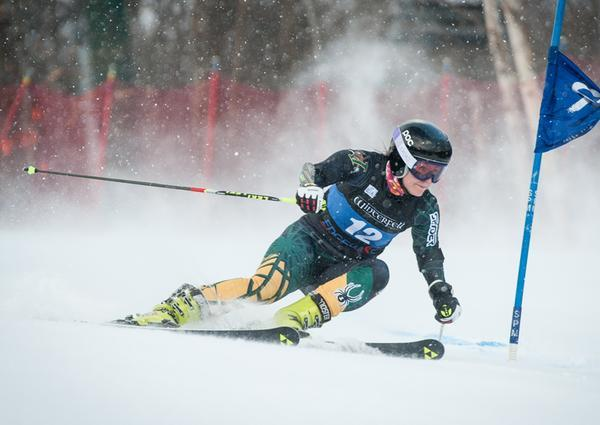 UVM was the only eastern school to qualify a full complement of 12 skiers at the NCAA competition at Lake Placid.