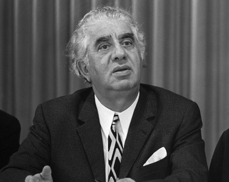 Aram Khachaturian was born in 1903 and is regarded as Armenia's superstar composer. He is one of the composers we will be listening to on April 24, Armenian Remembrance Day