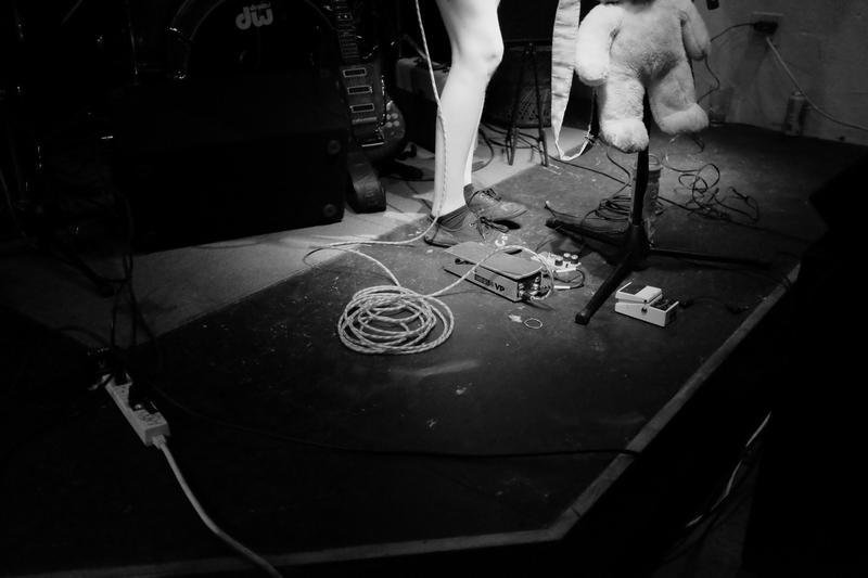 Northampton-based band And the Kids perform.
