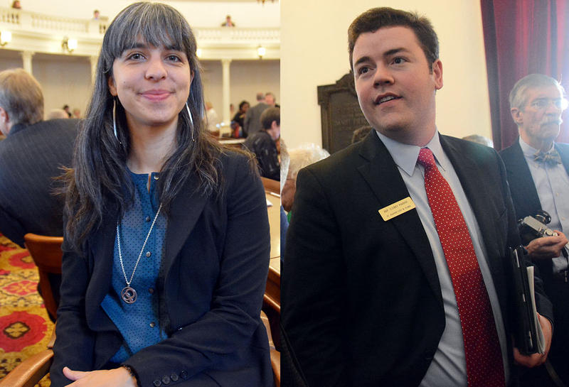 Progressive State Rep. Diana Gonzalez, from Winooski, and Republican Rep. Corey Parent, from Saint Albans, have been in office for just over three months. They reflect on what they've acheived so far this session, and how Montpelier has changed them.