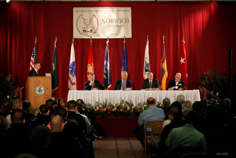 Norwich University's 20th annual William E. Colby Military Writers' Symposium, which kicked off Wednesday, is covering everything from military fiction to cybersecurity to the aircraft of the U.S.