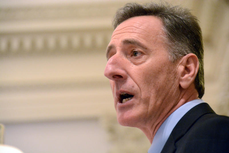 Gov. Peter Shumlin, shown here in 2015, says he's ready to work with lawmakers to salvage key aspects of the renewable energy siting bill he vetoed Monday. But House Republicans say they've already compromised enough.