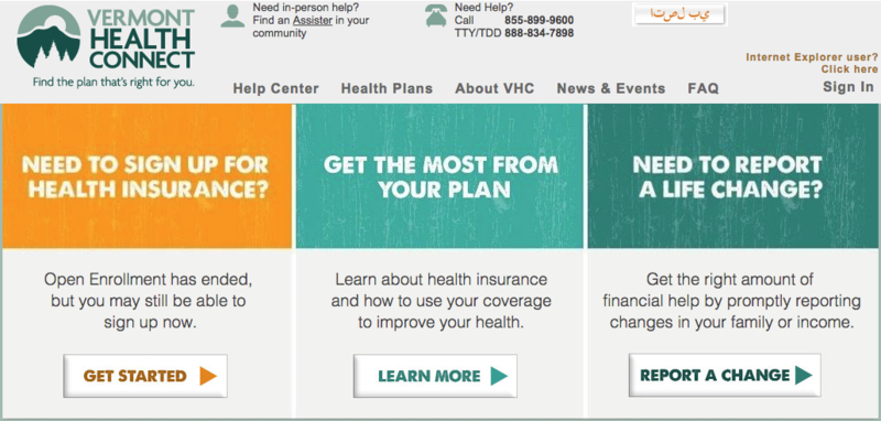 Vermont's health care exchange website is about to undergo a technological upgrade nededed for the next open enrollment phase.