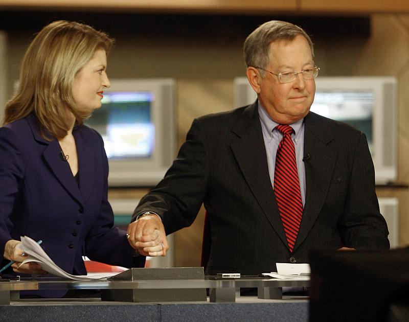 Marselis Parsons was joined by co-anchor Kristin Kelly in his final WCAX newscast in 2009. Parsons, a well-known anchorman, died Wednesday after a battle with cancer.