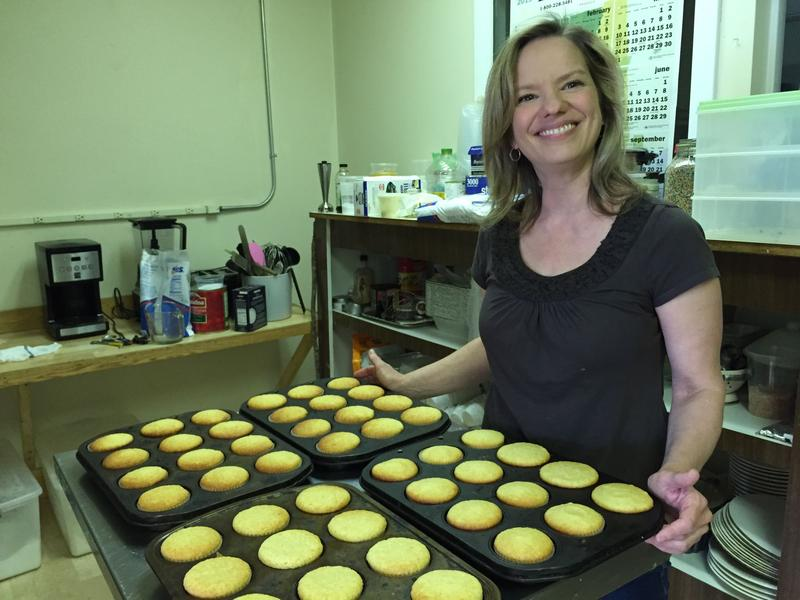 Carole Keleher, owner of the Mix Cupcakerie and Kitchen in the Mad River Valley, is hoping to raise enough money to give her business to the winner of a contest that involves a $75 entry fee, an essay and a cupcake recipe.