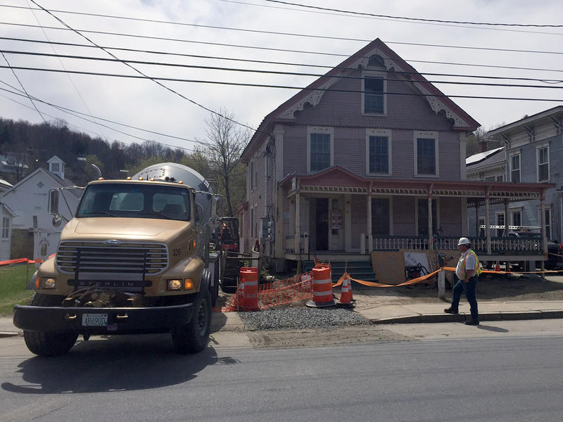 This affordable housing complex in Montpelier is undergoing thermal efficiency improvements thanks to program that has become the target of budget cuts being proposed by Gov. Peter Shumlin.
