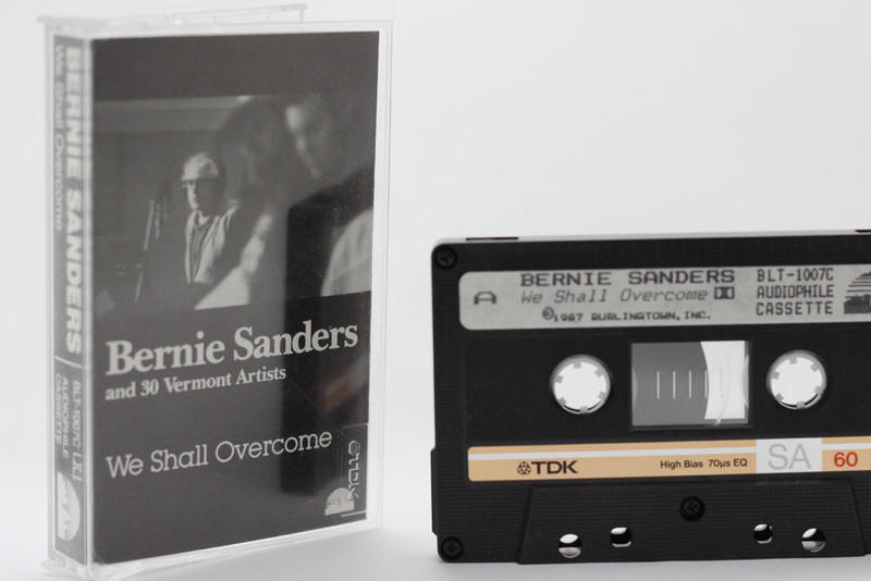 "Bernie Sanders' 1987 recording, ""We Shall Overcome,"" is finding a new audience after the senator's announcement of his candidacy for president."
