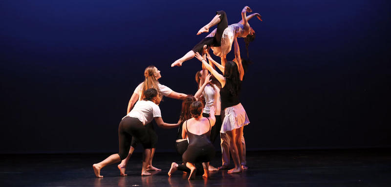 Next weekend, Dartmouth College's dance ensemble will present a program featuring 16 dancers from within the Dartmouth community, including four from the Geisel School of Medicine.