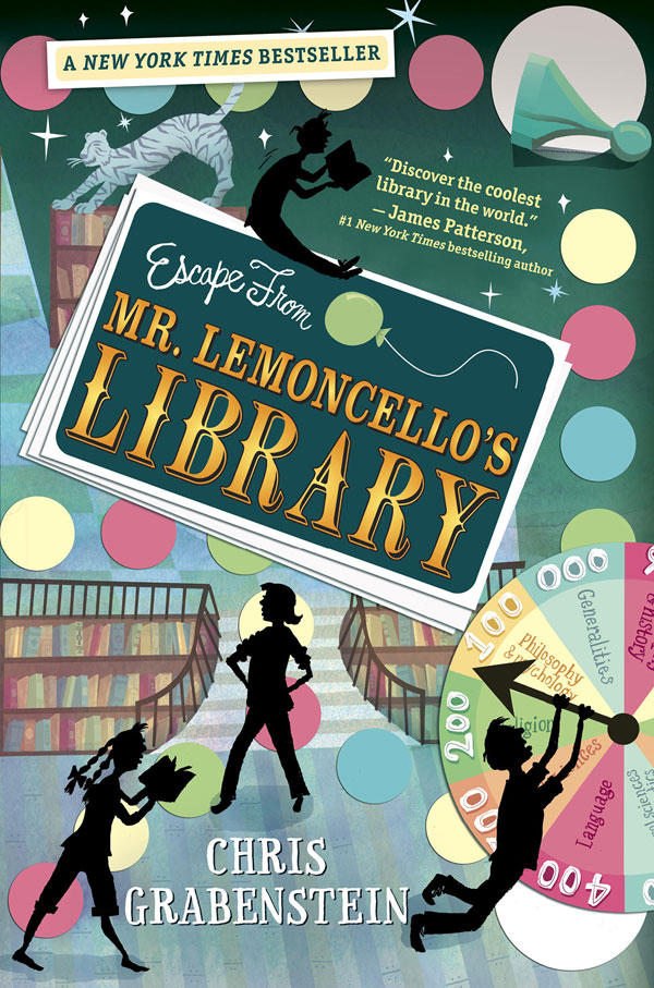 """Chris Grabenstein's """"Escape from Mr. Lemocello's Library"""" is the 2014-2015 winner of the Dorothy Canfield Fisher Children's Book Award."""