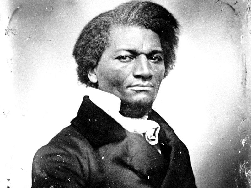 Frederick Douglass was a former slave and an eloquent abolitionist who visited Vermont in 1843.