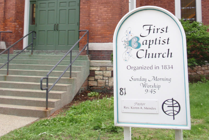 The First Baptist Church in Burlington is looking for a new organist to play its 1864 tracker action organ.