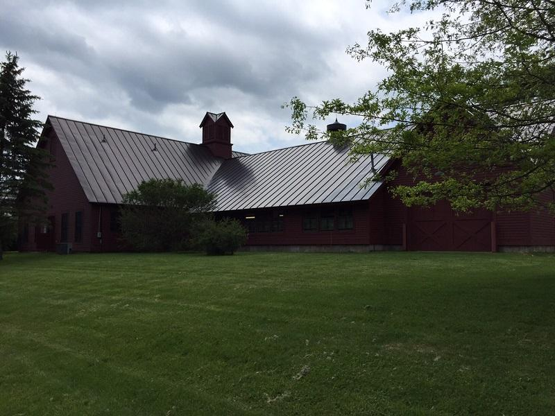 Barns at Norwich Farms have been donated to Vermont Technical College, which will use them to house and teach students in partnership with the Upper Valley Land Trust.