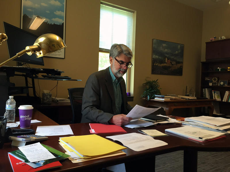 Jeb Spaulding, the chancellor of the Vermont state college system, says students will suffer if lawmakers and Gov. Phil Scott don't come up with more money for higher education.
